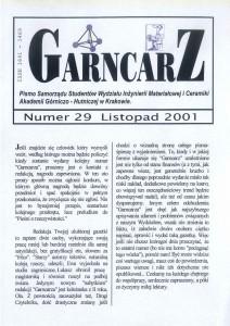 Listopad 2001